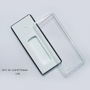 WCL-036 Gift box Plastic box Tool box Packing box Clear box